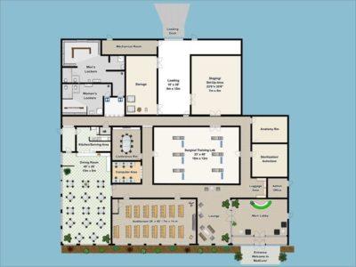 MedCure's Portland Surgical Training Facility Floorplan