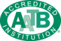 AATB Accredited Institute Logo