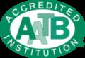 AATB Accredited Institute Logo