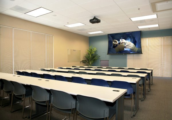 MedCure's Henderson Surgical Training Facility Class Room