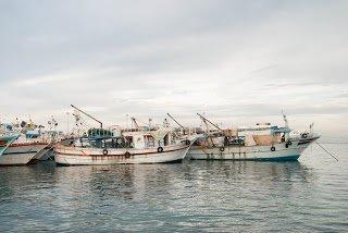 Fishing Boats in Depoe Bay, Oregon